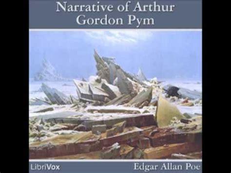 libro narrative of arthur gordon the narrative of arthur gordon pym of nantucket full audiobook youtube