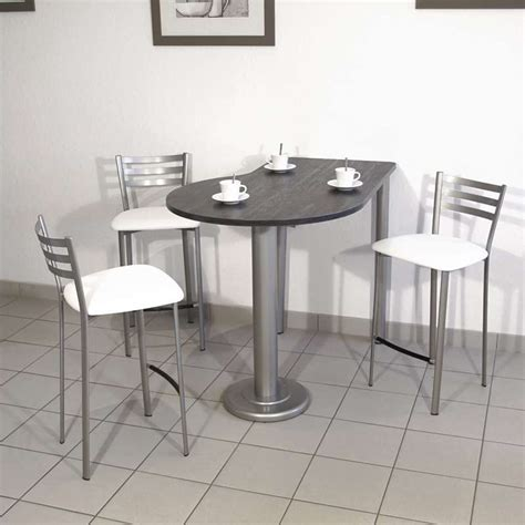 table de cuisine ik饌 table de cuisine luros en stratifi 233 snack ht 90 cm 4