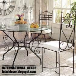 Iron Dining Room Chairs Wrought Iron Furniture Cool Ideas For Different Rooms Interior And Home Decor
