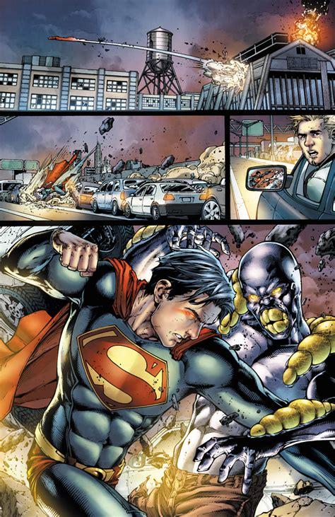 earth one vol 2 sdcc 2012 nuevo avance segundo volumen de superman
