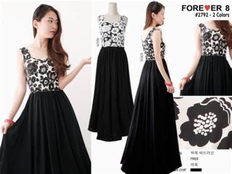 Ayako Fashion Dress Maxi Yu 2 Warna longdress tangan kutung i l o v e f a s h i o n s