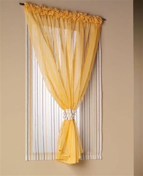 tendine per interni tende da interni a vetro con doppio velo cattani vicenza