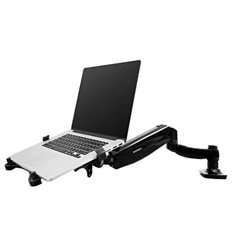 Swivel Laptop Stand For by Fleximounts 2 In 1 Monitor Arm Laptop Mount Stand Swivel