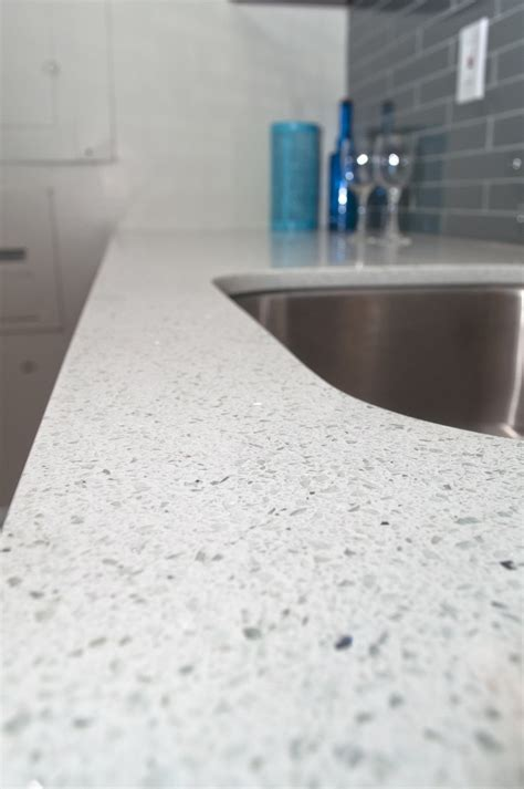 apartment countertop gallery sparkling white quartz countertops
