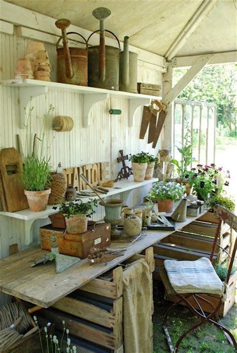 shabby chic shed shabby chic potting shed shabby chic garden sheds