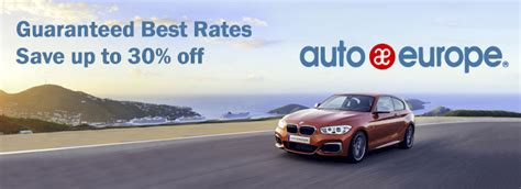 auto europe car rental discounts