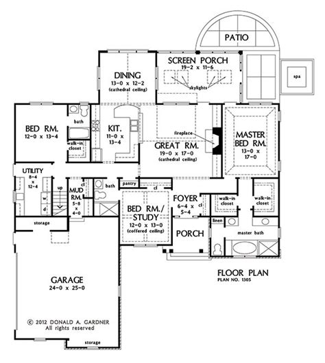 ranch floor plans with bonus room stone ranch with single living space convenience
