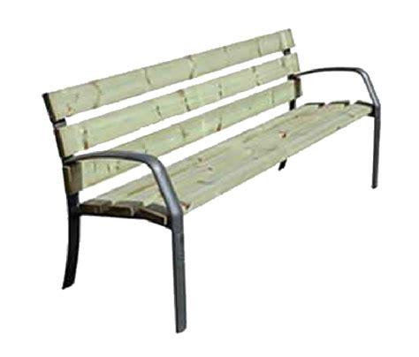 panchina ghisa panchina in legno e ghisa ibiza