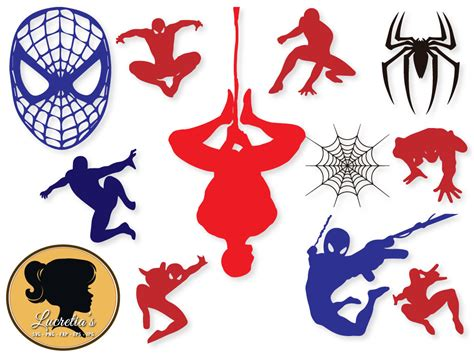eps format in dxf spiderman svg instant download spiderman eps dxf and