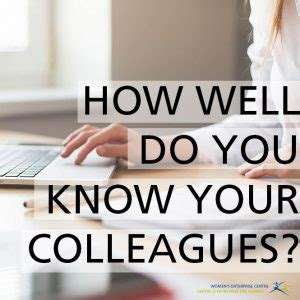 How Well Do You Your by How Well Do You Your Colleagues S Enterprise