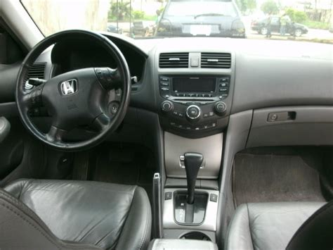 2003 Honda Accord Interior by Registered 2003 Honda Accord V6 Engine Leather Interior