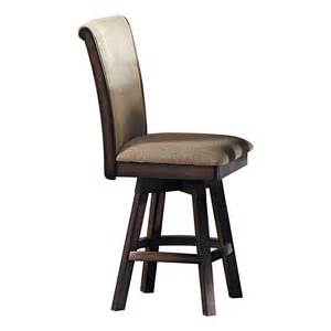 Dining Set With Swivel Chairs Homelegance Westwood Swivel Counter Height Dining Chair Set Of 2 Atg Stores