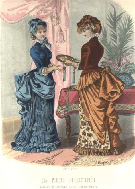 victorian era bustle era changes the highs lows in the 1870s 1880s