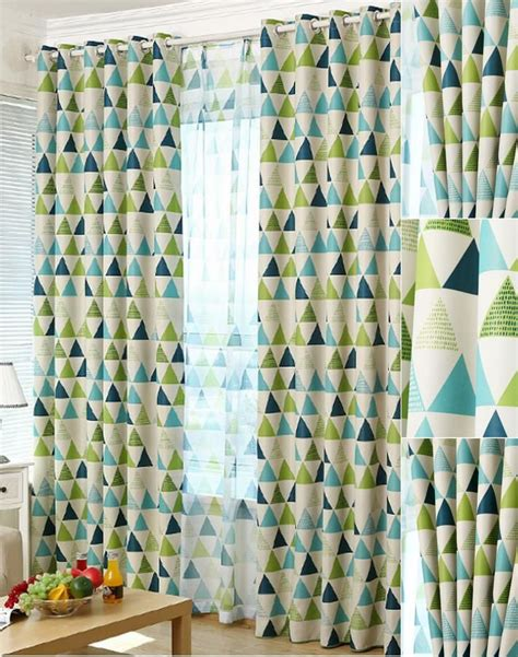 triangle pattern curtains 25 best ideas about geometric curtains on pinterest