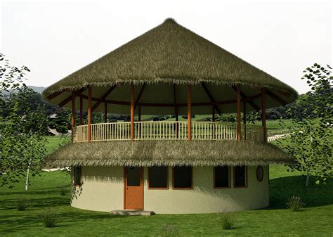 roundhouse design earthbag house plans