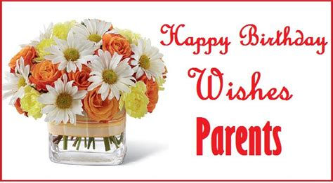 Happy Birthday Wishes From Parents To Happy Birthday Messages For Parents Happybdwishes
