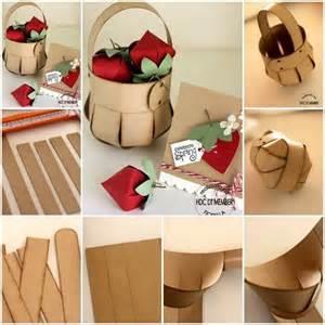 manualidades camasta d senicienta d papel canasta de papel manualidades pinterest papel