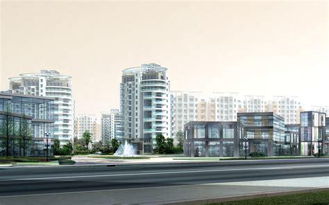 3d architecture design building