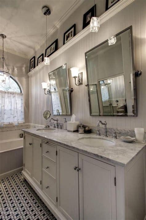 32 quot prague rectangular tilting mirror bathroom mirrors cottage master bathroom with carnegie hill single bath