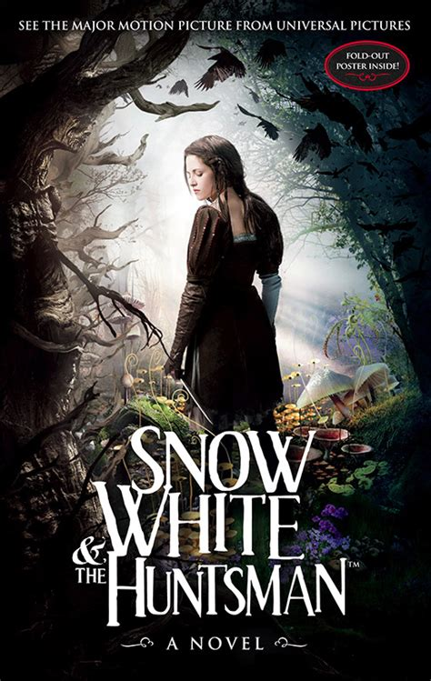The White A Novel quot snow white and the huntsman a novel quot book cover snow