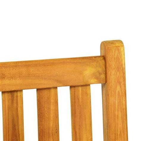 panchina in legno da esterno panchina da esterno e giardino in legno di teak a 2 posti