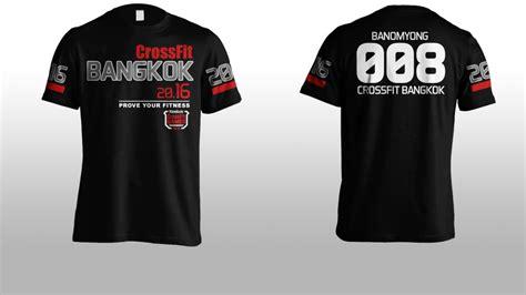 design a crossfit shirt apparel designs crossfit bangkok brace digital solutions