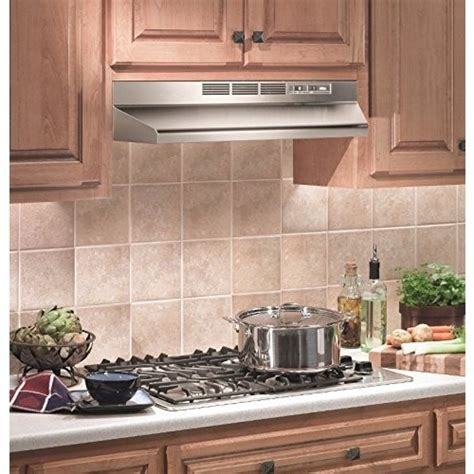 gas stove and hood fan under cabinet range hood stainless steel 30 inch wide