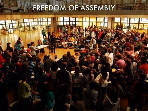 Freedom To Assemble Is Outlined In Which Amendment by Amendment Freedom Of Assembly Pictures To Pin On Pinsdaddy