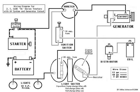 basic generator wiring diagram wiring automotive wiring