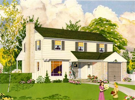 1950s house historic preservation archives retro renovation