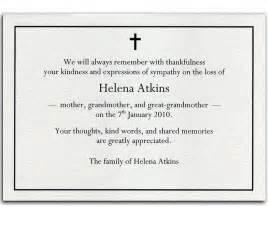 bereavement thank you card 5