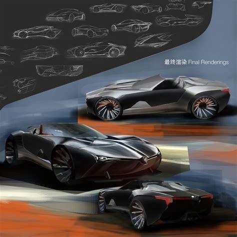 boston motors design competition car body design saic design competition 2nd winner yan hao chuan car