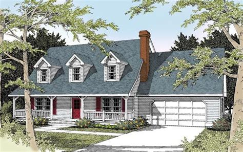 cape cod house plans with attached garage cape cod country house plan 91631 kitchen dining rooms