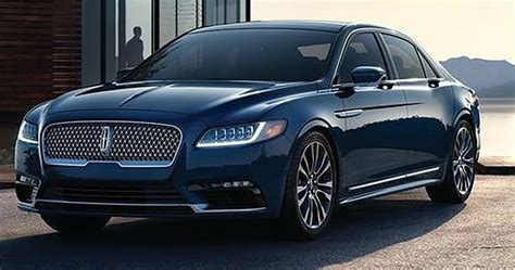 lincoln continental 2017 lincoln continental photos of production model