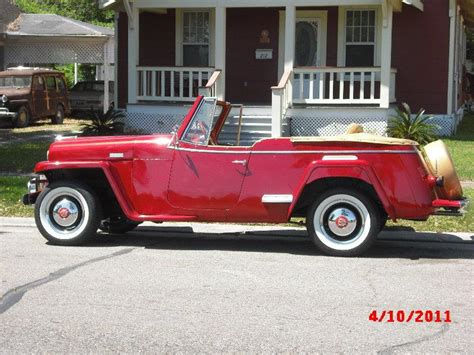 willys jeepster willysman 1949 willys jeepster specs photos modification