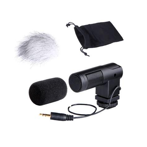 Mic Microphone Condenser Dslr Stereo Konextor Mini boya by v01 stereo x y mini condenser microphone for canon nikon pentax sony dslr camcorder