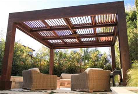 Wood Pergolas And Pavilions Built To Last Decades