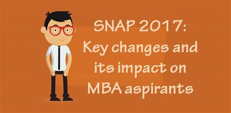 Snap Test For Mba by Snap 2017 Key Changes And Its Impact On Mba Aspirants