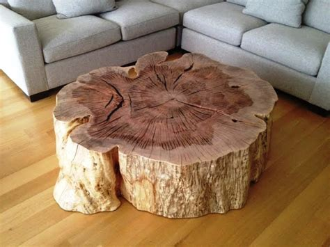 Wood Stump Coffee Table Tree Stump Coffee Table Unique Design Tree Stump Coffee Crafts Tree Stumps