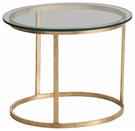 oval accent tables arteriors ansel iron glass oval table contemporary
