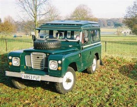 land rover safari roof land rover series 3 with safari roof price sold 1984