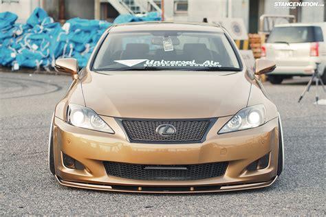 slammed lexus is250 lower standards kenji s usdm styled is250
