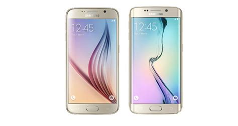 samsung launches samsung galaxy s6 samsung galaxy s6 edge in india prices news photos