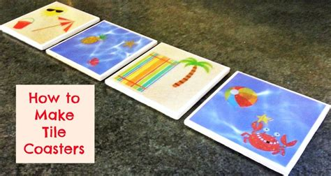 How To Make Your Own Scrapbook Paper - how to make your own custom tile coaster with scrapbook paper