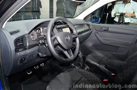 Skoda Fabia Interior India by 2015 Skoda Fabia Interior At The 2014 Motor Show Indian Autos