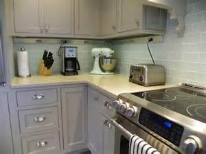 kitchen tools gray subway tile backsplash gray subway