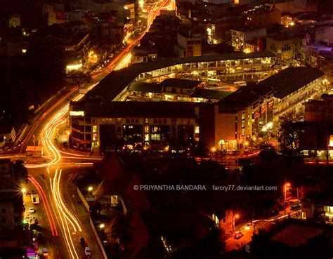 Awesome Night Lights Kurunegala City At Night By Farcry77 On Deviantart