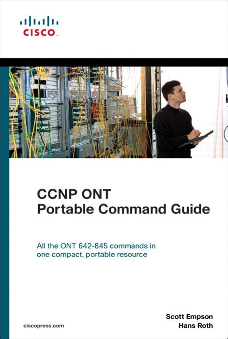 cisco ccna command guide computer networking series books ccnp ont portable command guide