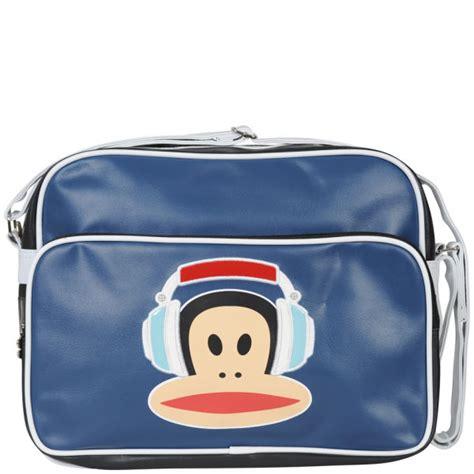 Frunk Messenger Bag paul frank headphones messenger bag navy womens