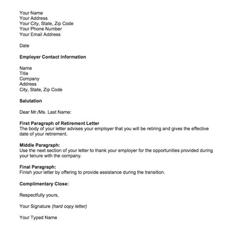 retirement letter from employer to employee template retirement letter sles for someone retiring top form